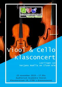 Klasconcert cello en viool